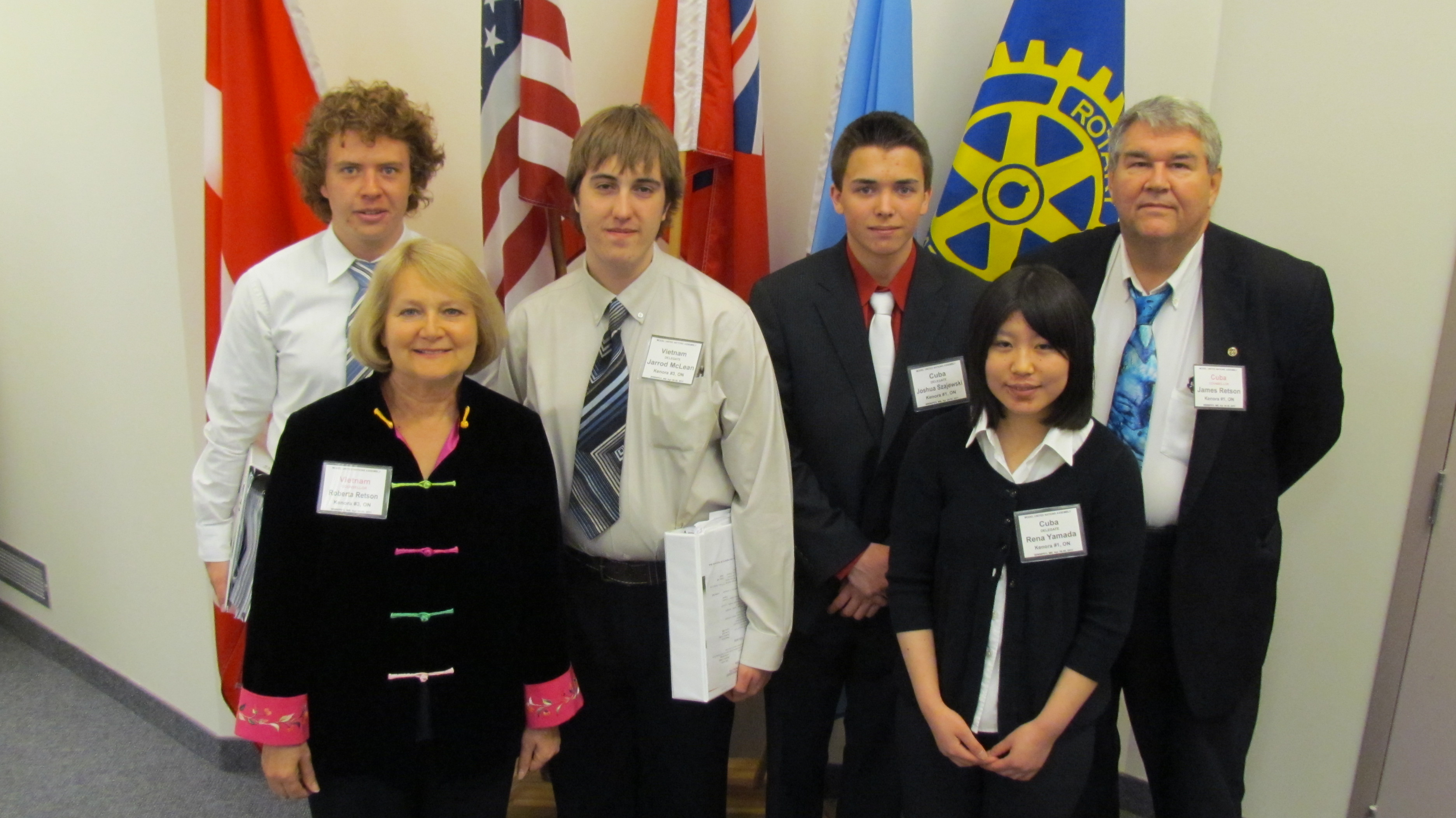 The Model United Nations was held in Winnipeg on April 28-May 1st 2011